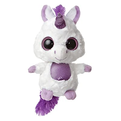 "Violet Purple Unicorn Yoohoo 5"" by Aurora: Toys & Games"