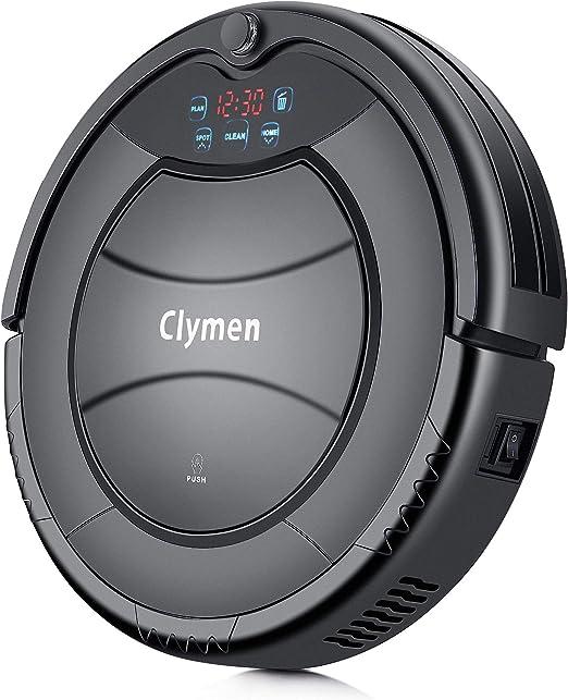 Clymen Q7 Aspiradora Robot, Una Aspiradora Robótica Autocargable ...