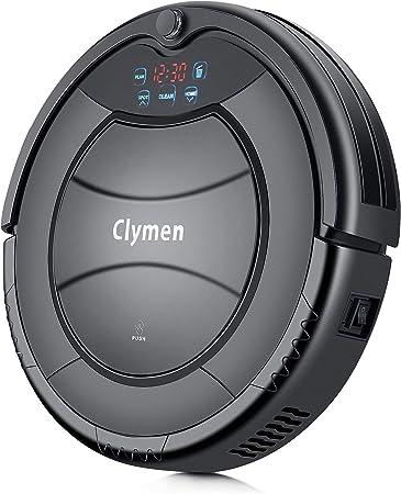 Clymen Q7 Aspiradora Robot, Una Aspiradora Robótica Autocargable para Mascotas, Adecuada Aara Alfombras, Baldosas Y Pisos De Madera, Elimina El Pelo, La Piel Y La Suciedad: Amazon.es: Hogar