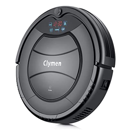 Clymen Q7 Aspiradora Robot, Una Aspiradora Robótica Autocargable para Mascotas, Adecuada Aara Alfombras,