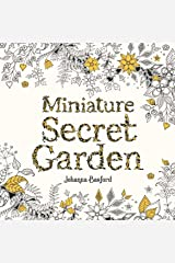 Miniature Secret Garden: A Pocket-sized Adventure Coloring Book Paperback