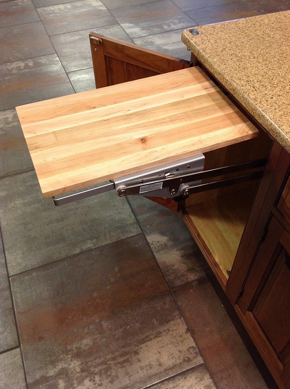 Wood Shelf Platform ONLY - 3/4'' x 12'' x 19'' - For Revashelf RAS-ML-HDCR Heavy Duty Mixer Lift - Maple Butcher Block - Trimmable by HomeProShops (Image #3)