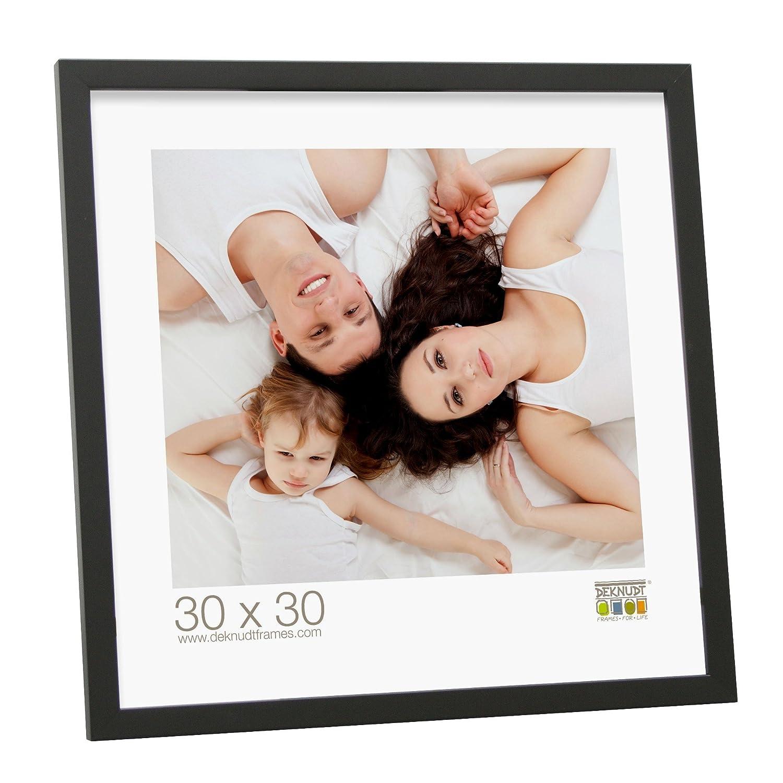 Deknudt Frames S43AK2-10.0X15.0 Bilderrahmen, Holz, 1,4 cm hoch, Schwarz 17,8 x 13,5 x 1,5 cm