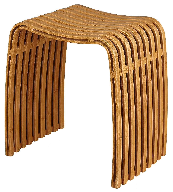 Nicol 1434960 Hocker Fabian, Bambus, Bambus, Bambus, Sitzhöhe, 44,5 cm 358240