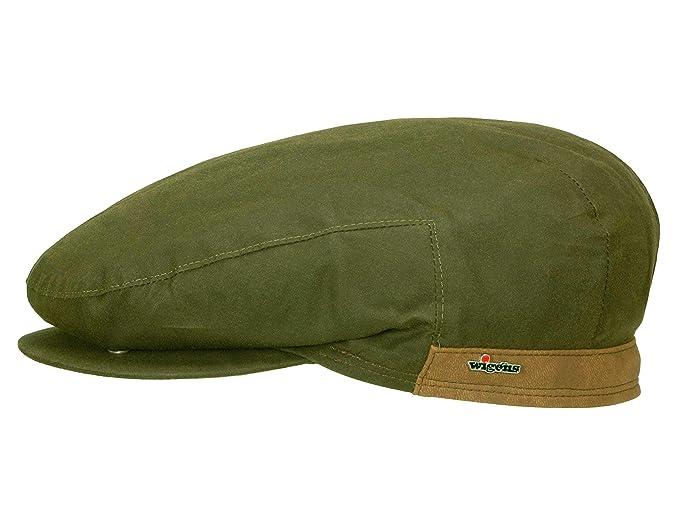 f13b2eec6d0 Wigens Men s Flat Cap Viggo - green  Amazon.co.uk  Clothing