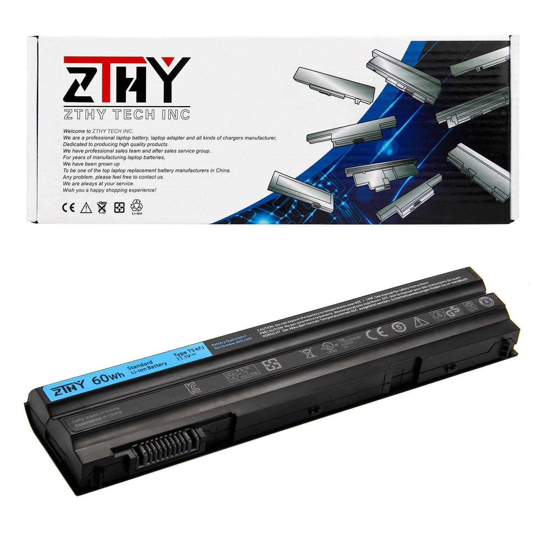 ZTHY 60WH T54FJ Laptop Battery Replacement for Dell Latitude E5420 E5520  E5430 E5530 E6420 E6430 E6520 E6530 E6440 Series 2P2MJ 312-1325 312-1165