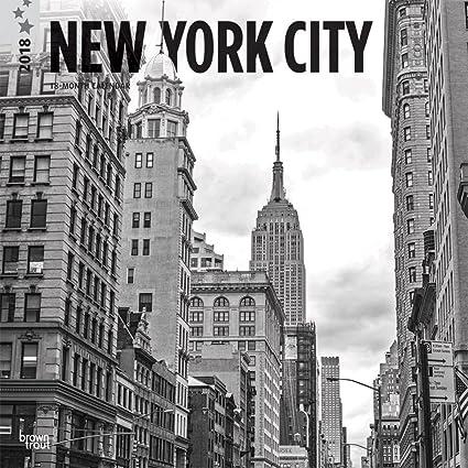 Calendario 2018 Nueva York - Nueva York blanco y negro ...