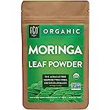 Organic Moringa Oleifera Leaf Powder | Perfect for Smoothies, Drinks, Tea & Recipes | 100% Raw From India | 4oz Resealable Kr