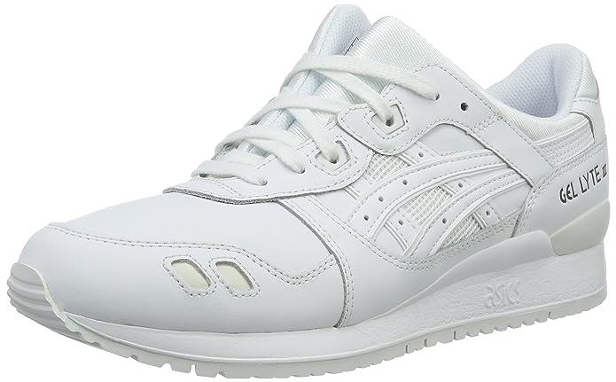 Bianco Asics HL6A2 Scarpe da Trail Running Unisex Adulto Bianco