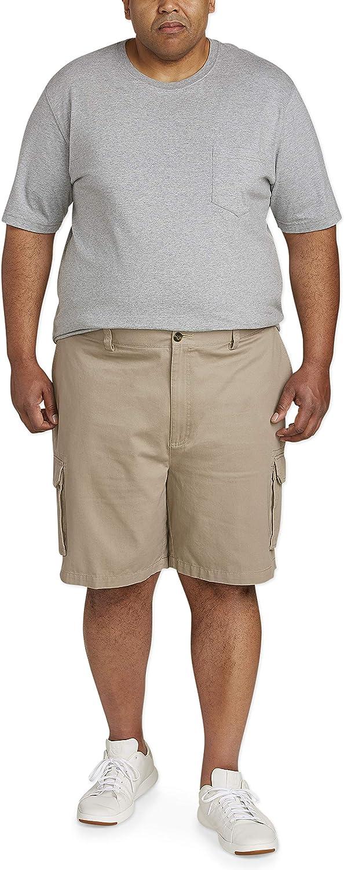 Essentials Mens Big /& Tall Cargo Short fit by DXL