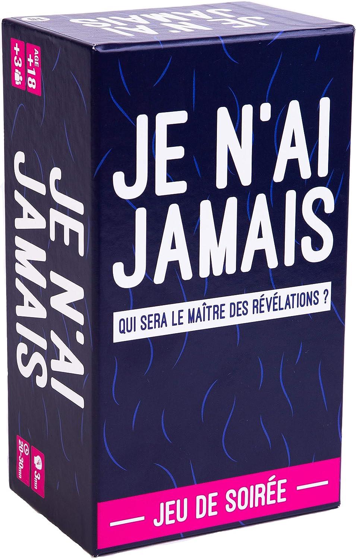 JE N'AI JAMAIS - Le Jeu des Révélations Entre Amis - Jeu de Société pour Animer Soirées et Apéros