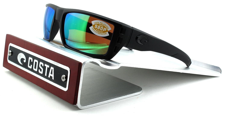 73664b1633 Amazon.com  Costa Del Mar Rafael 580P Polarized Men Sunglasses (Blackout  Frame