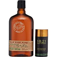 18.21 Man Made Gift Set Duo - Wash & Deodorant Stick, Spiced Vanilla