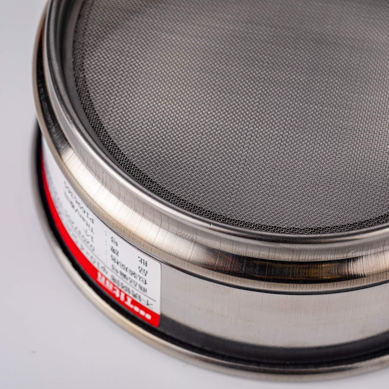 Adamas-Beta /φ10/×4.5cm 55 Mesh 304 Stainless Lab Sieves Economy Test Sieve 304 Stainless Steel Wire Cloth(0.315mm)