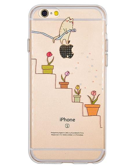 coque silicone fantaisie iphone 6