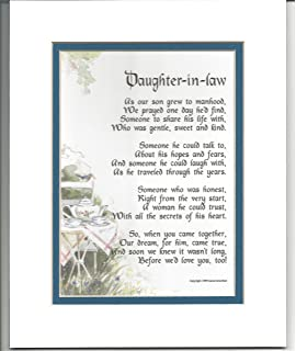 Amazon.com: To My Son On Your Wedding Day - One Parent - Poem Print ...