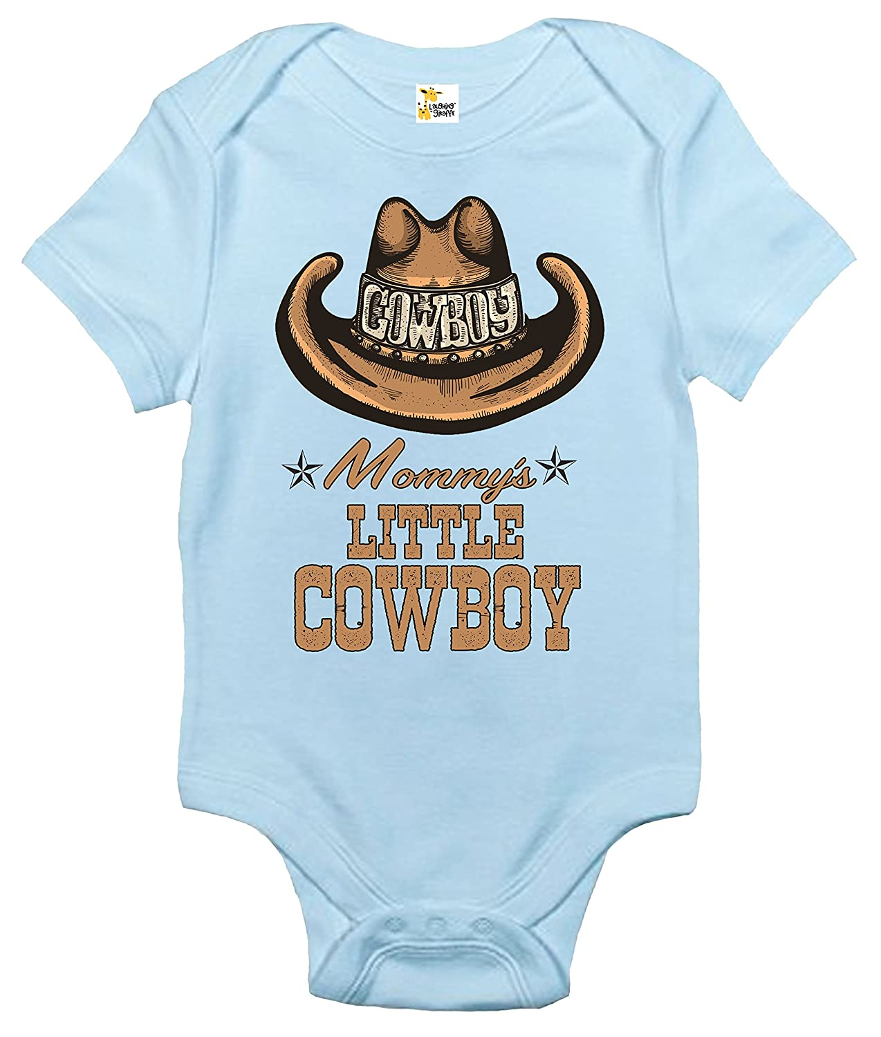 Rapunzie Baby Bodysuit - Mommy's Little Cowboy Cute Western Baby Clothes for Infants LG2200