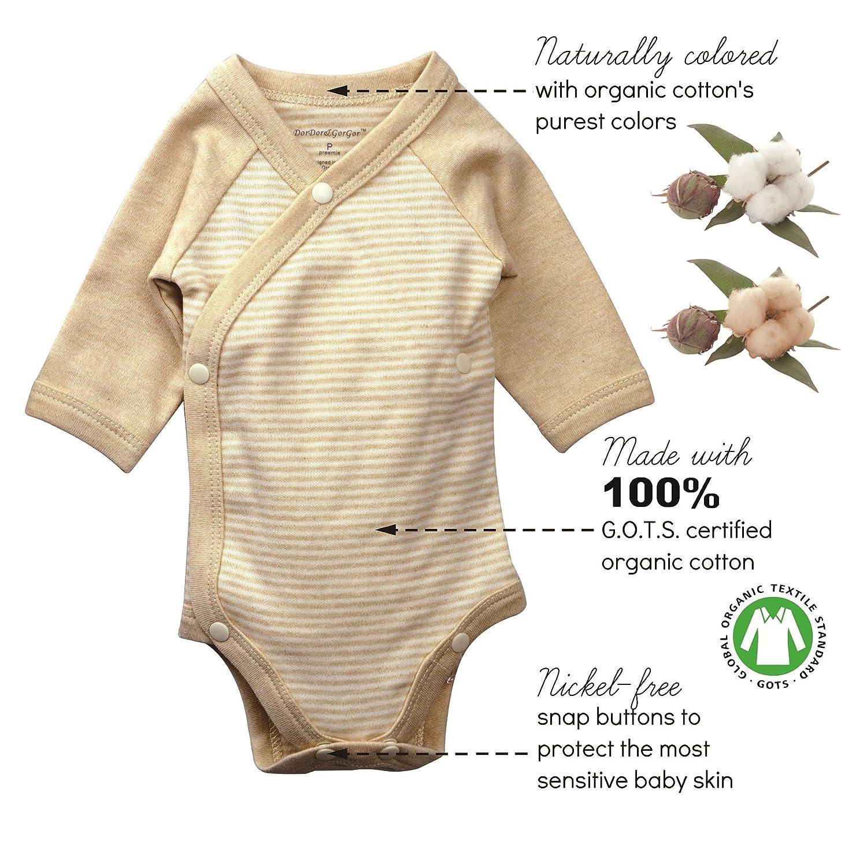 Dordor Gorgor Baby Kimono Onesies Organic Cotton Amazon Ca