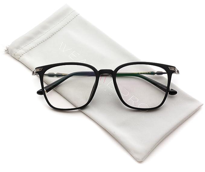 735c8260db Amazon.com  WearMe Pro - Male Modern Rectangular Prescription Frame Glasses   Clothing