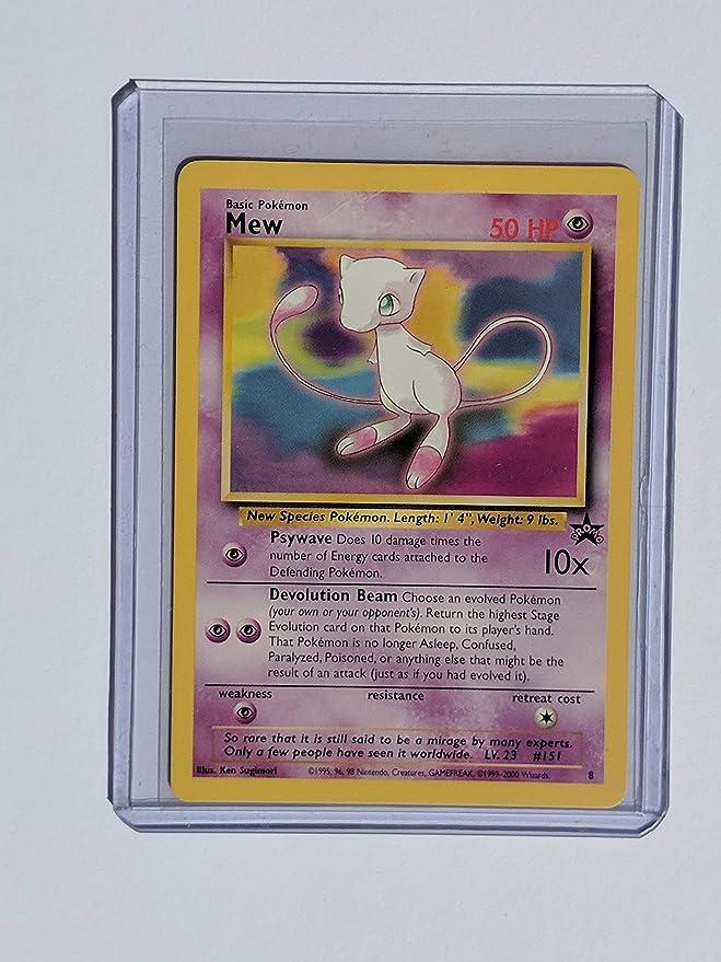 Amazon.com: Carta de Mew, de Pokémon. : Toys & Games