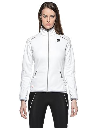 Sportful Chaqueta Crosscountry Snowflake Blanco S: Amazon.es ...