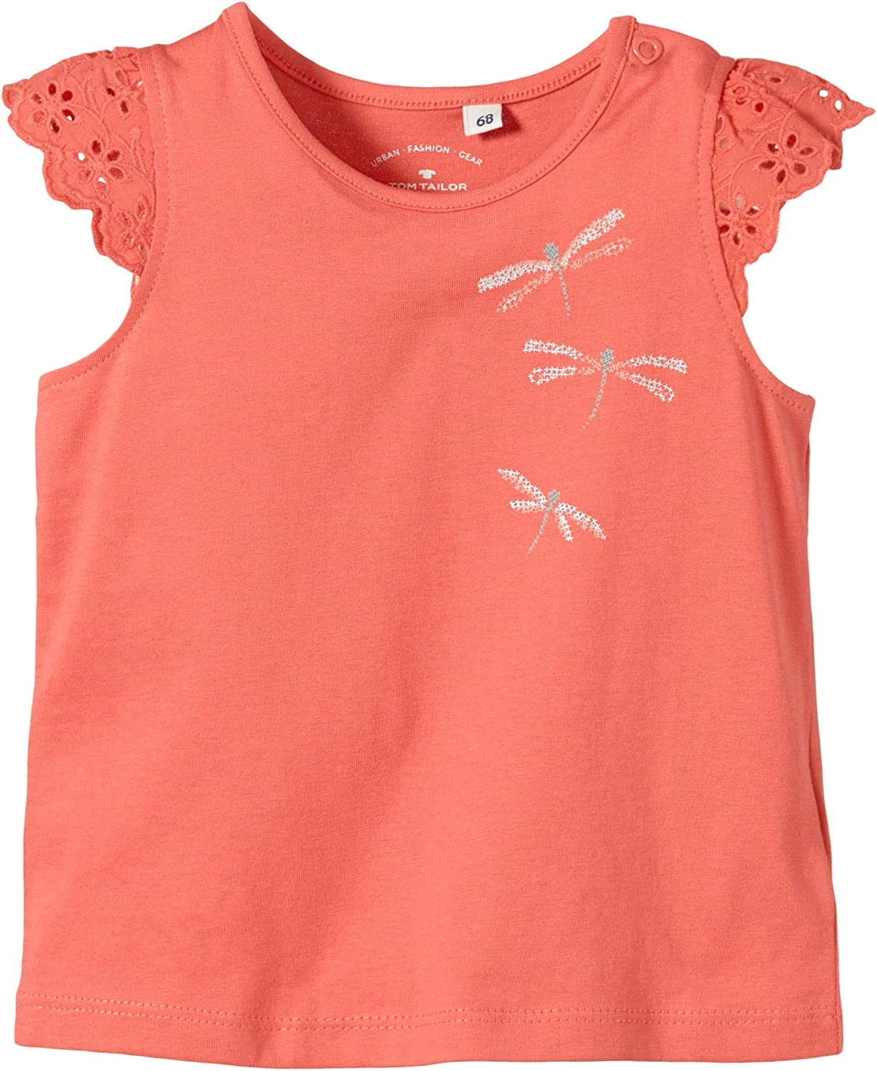 TOM TAILOR Kids Baby M/ädchen Top lace wing sleeve top//504