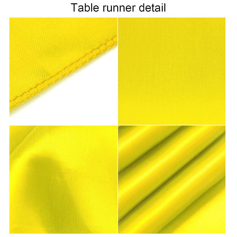 in Seta Brillante e Tessuto Liscio per Feste Aneco Feste Light Silver 30,5 x 274,3 cm Runner da tavola in Raso Decorazione per Banchetti di Nozze