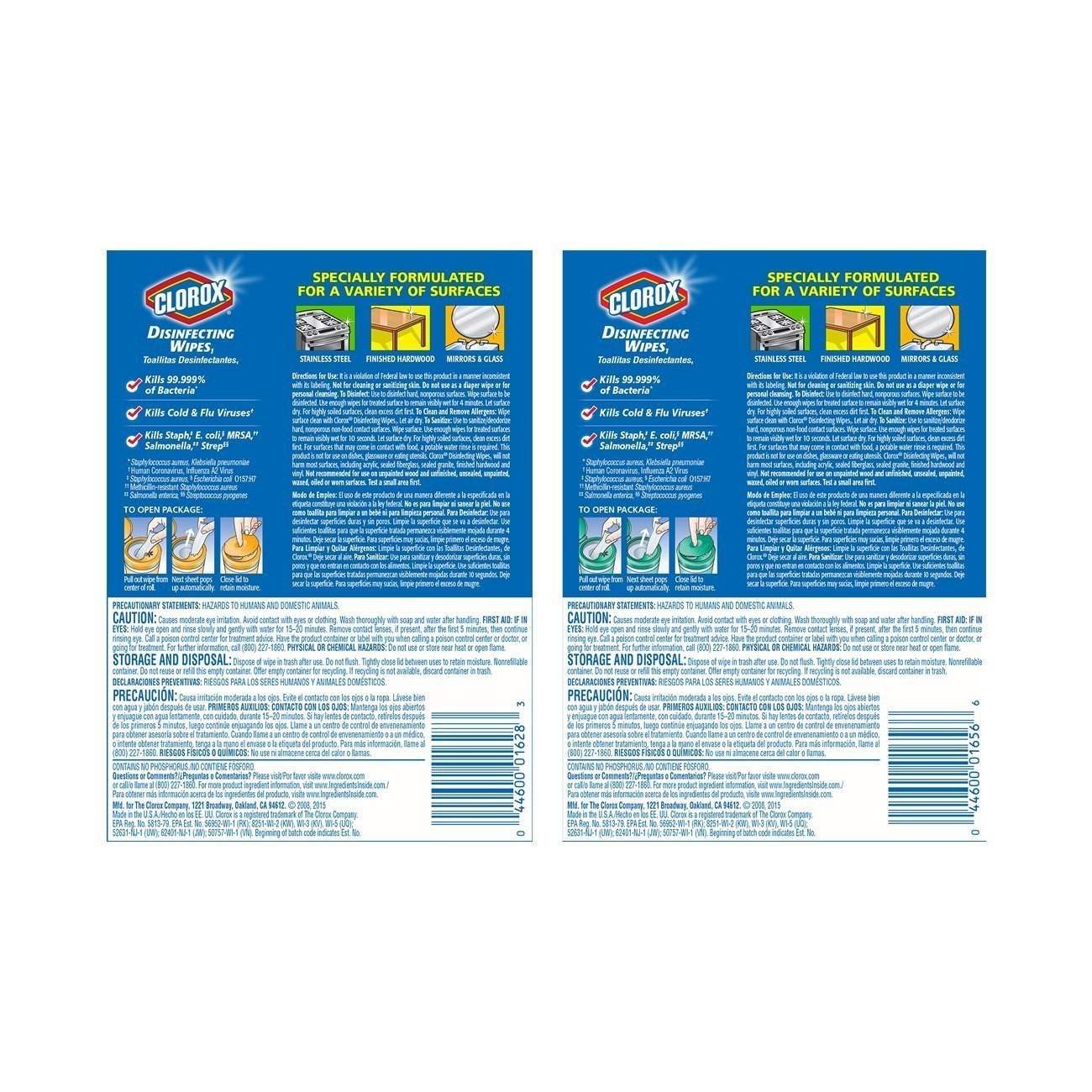Amazon.com Clorox Disinfecting Wipes Value Pack Fresh Scent and Citrus Blend 450 Count Home u0026 Kitchen  sc 1 st  Amazon.com & Amazon.com: Clorox Disinfecting Wipes Value Pack Fresh Scent and ...