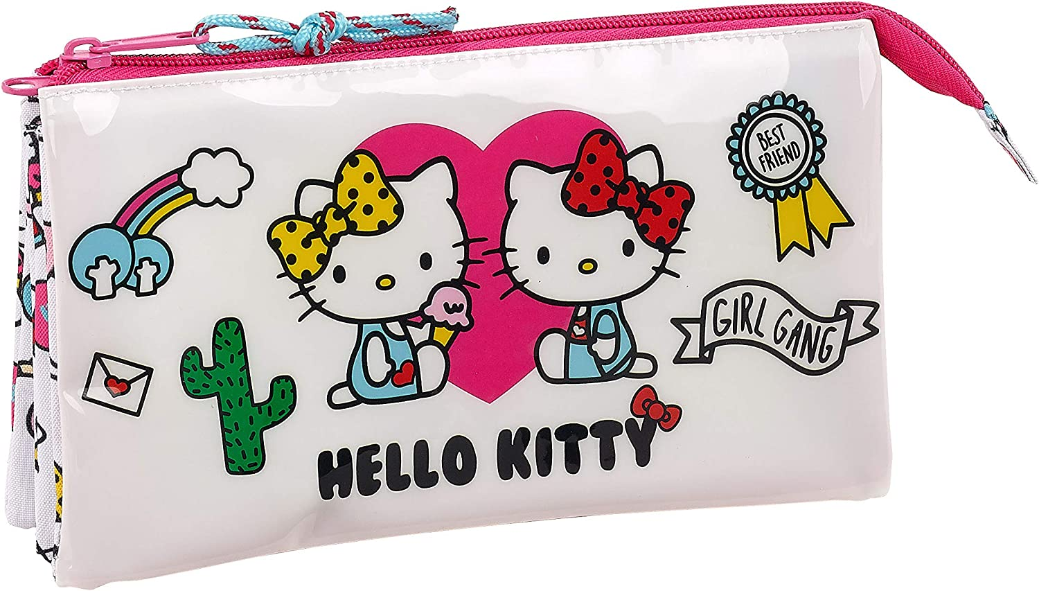 Rose Hello Kitty 2018 Trousse /à Maquillage 3.75 liters 26 cm Rosa