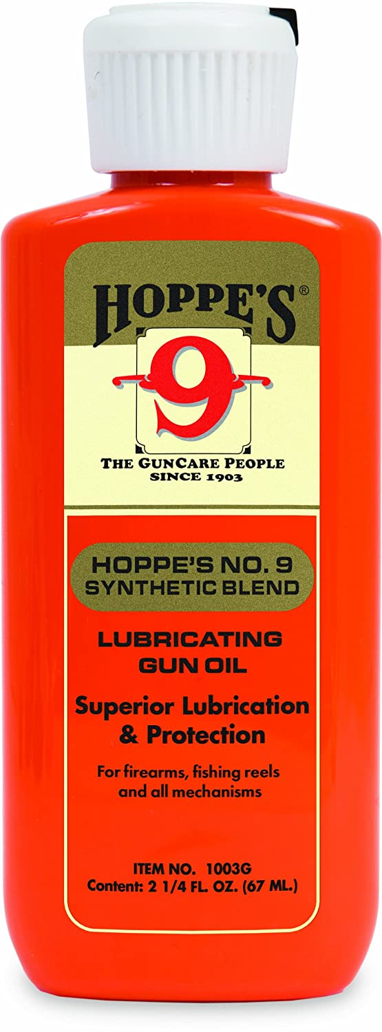 Hoppe's No. 9 Synthetic Blend Lubricating Oil, 2.25-Ounce - best gun oils