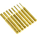 SE ST1032B 8-Piece Brass Pin Drive Punch Set in a Pouch