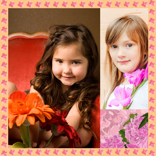 (Flowers Photo Collage)
