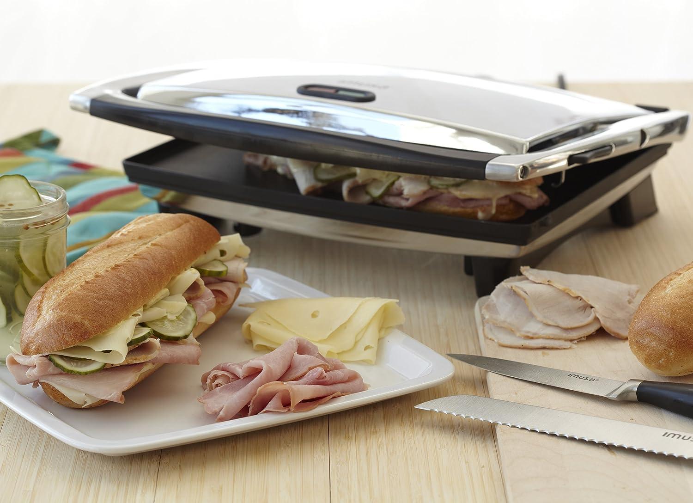 IMUSA Electric Panini and Sandwich Maker