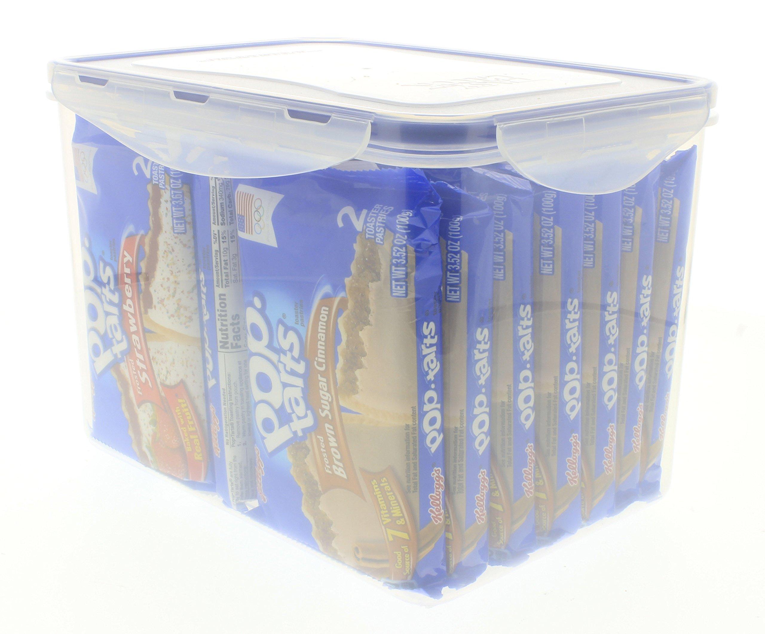 Kellogg's Pop-Tarts 16 pk, 8 Brown Sugar Cinnamon, 8 Strawberry