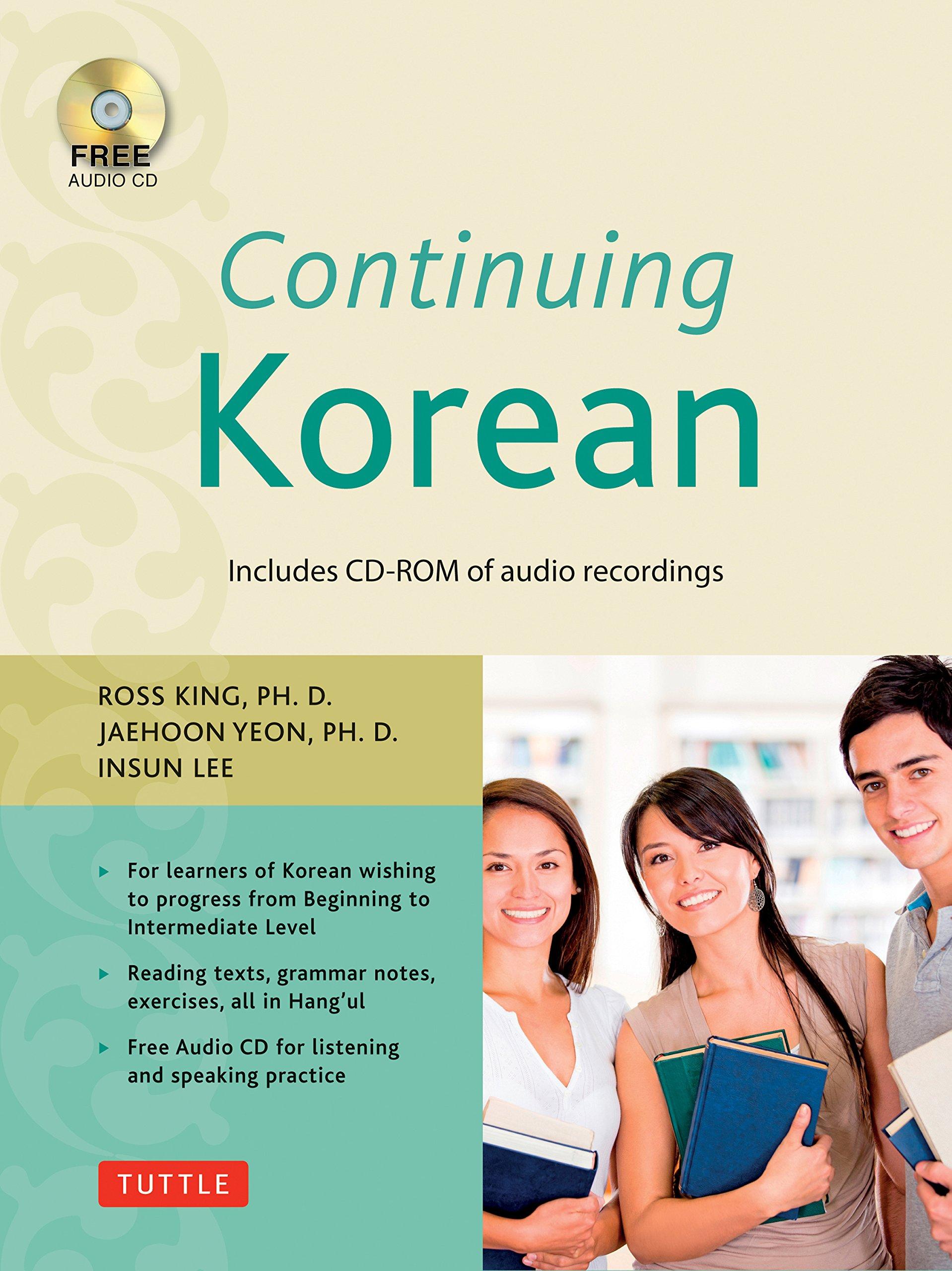 Continuing Korean: Second Edition (Includes Audio CD)