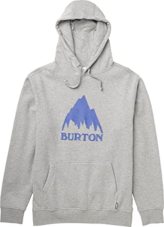 Burton Mountain Logo - Sudadera para hombre gris gris Talla:56/58: Amazon.es: Deportes y aire libre