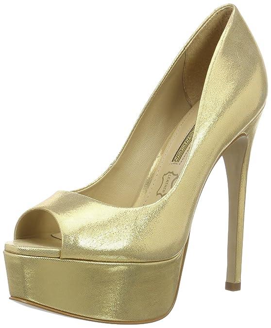 Buffalo Zs 5666-15 Aqua Metal, Escarpins Femme, (Gold 01), 40 EU