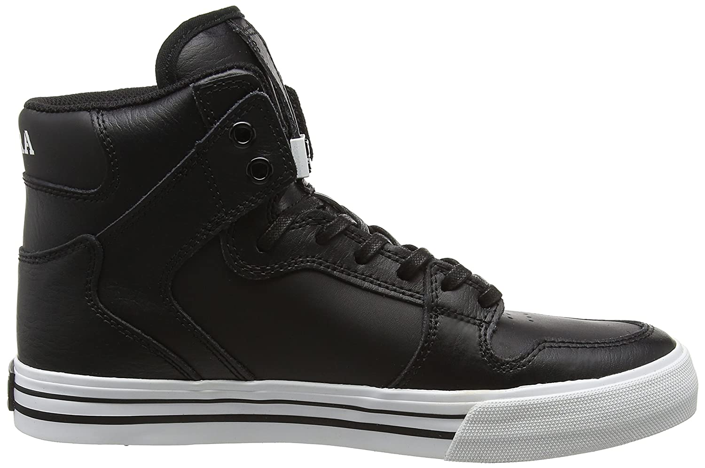 Supra Vaider Skate Shoe B0125GZ6VY 14 M US|Black/White