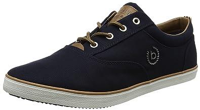 F48136, Sneakers Basses Homme, Blanc (Weiß), 44 EUBugatti