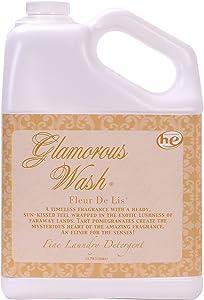 Tyler Candle Fleur De Lis Glamorous Wash 128 oz (Gallon) Fine Laundry Detergent