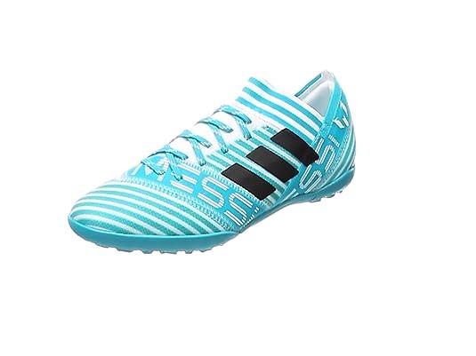 adidas Nemeziz Messi Tango 17.3 TF J, Botas de fútbol Unisex niños, (Ftwbla