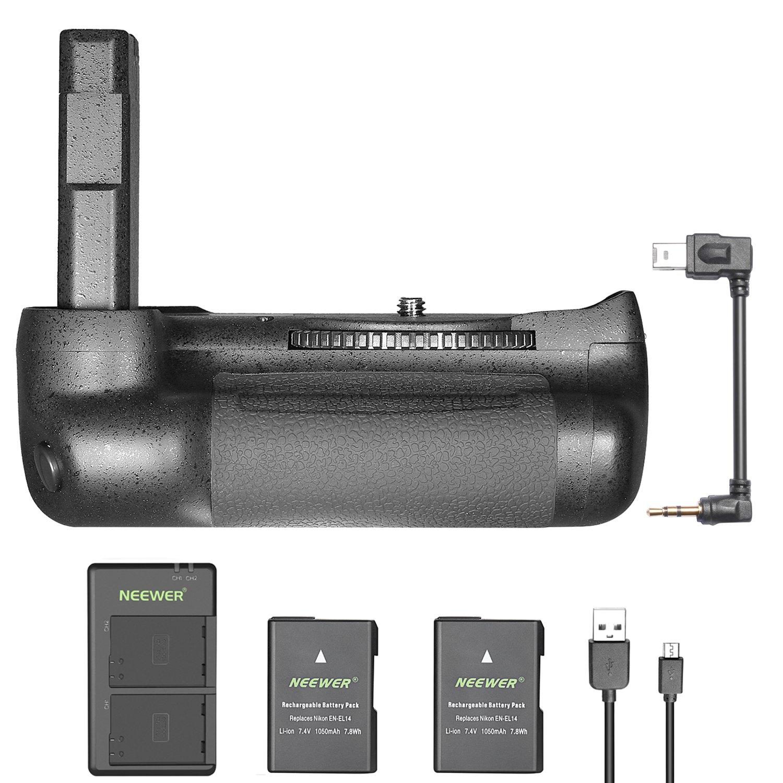Bateria Grip Neewer Nikon D5600 D5500 + 2 1050mah En-el14