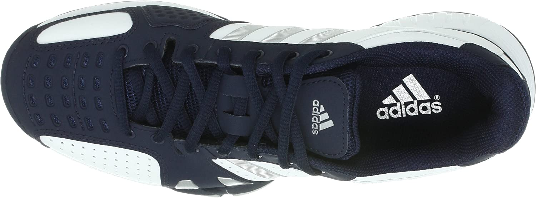 Adidas barricade team 2 oc blanc bleu chaussure de tennis