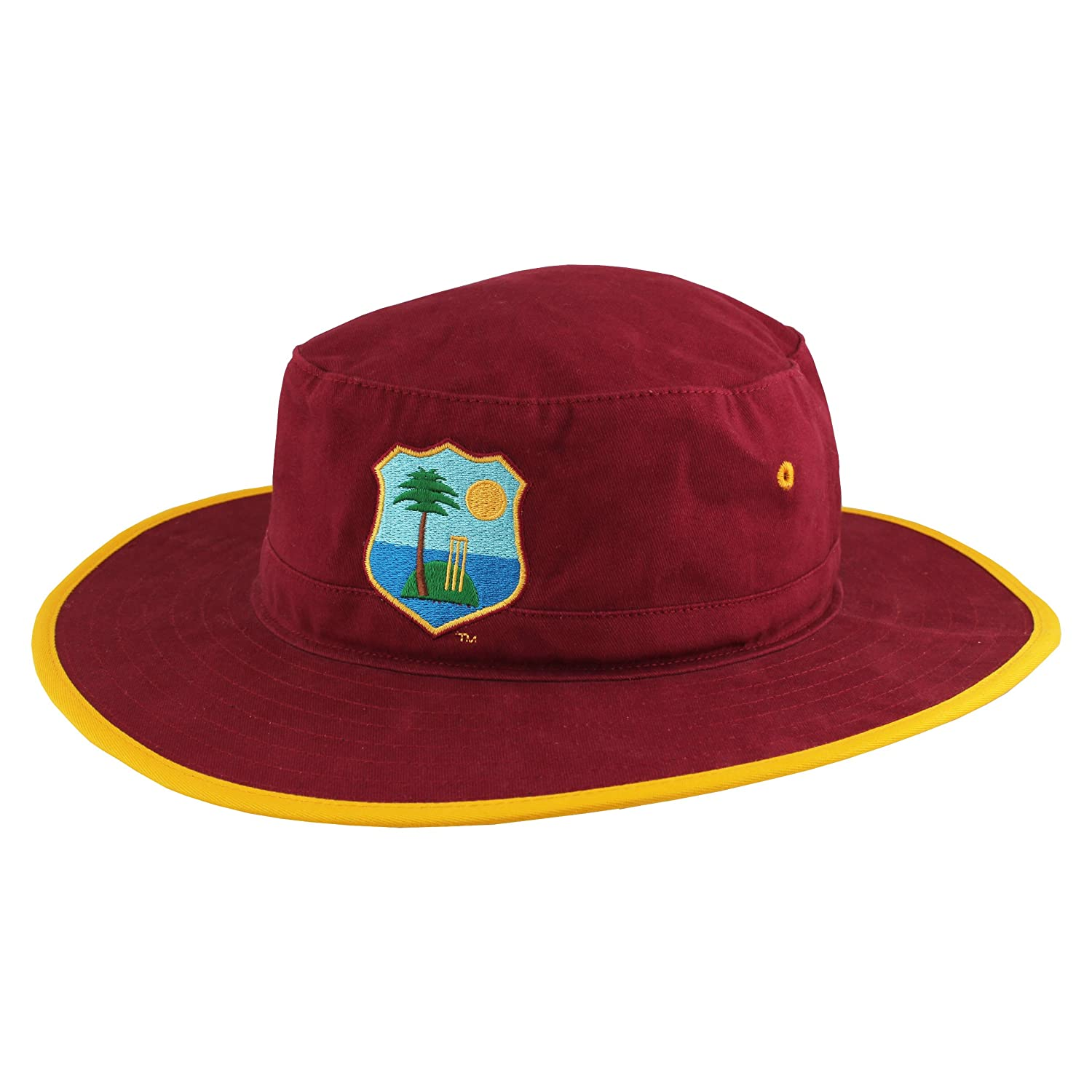 Official West Indies Cricket ODI Sun Hat by Woodworm