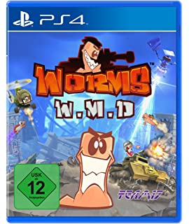 Worms Battlegrounds Playstation 4 Amazonde Games