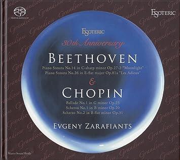 596914ce58 Amazon | Esoteric 30th Anniversary Beethoven & Chopin / Zarafiants ...
