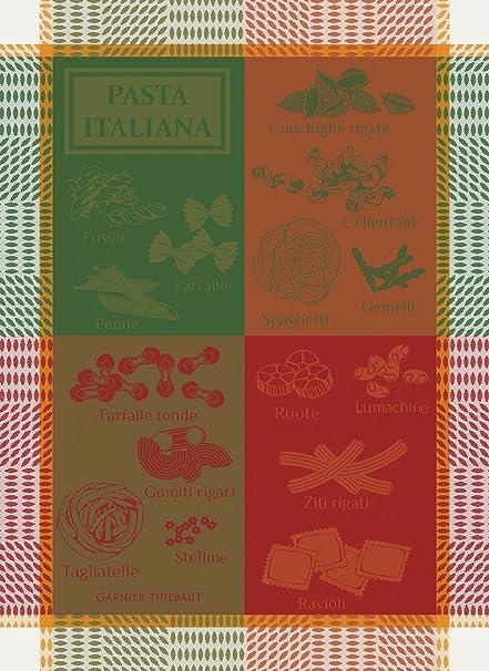 "Garnier thiebaut toalla de té ""plato"" pasta Italiana (Essential) – 100"