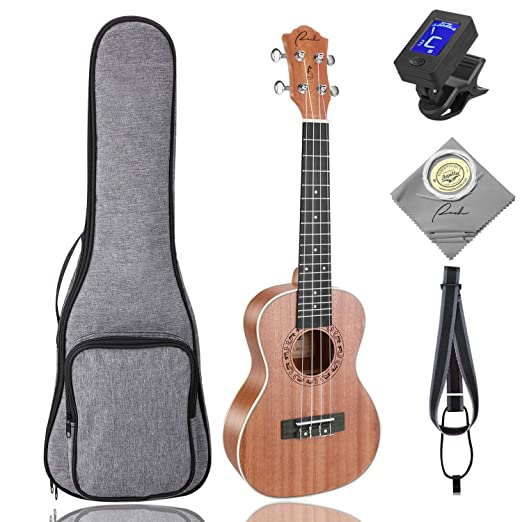 Amazon.com: Tenor Ukulele Ranch 26 inch Professional Wooden ukelele  Instrument Kit With Free Online 12 Lessons Small Hawaiian Beginner Guitar  ukalalee ...