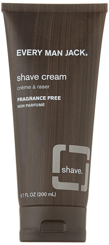 Every Man Jack Fragrance Free Shaving Cream, 200 Milliliter Cathay Fenix (Beauty)
