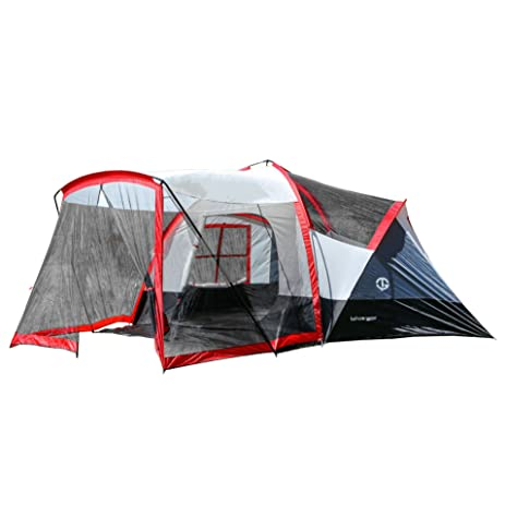 Tahoe Gear Zion 9 Person 3 Season Camping Tent And Screen Porch